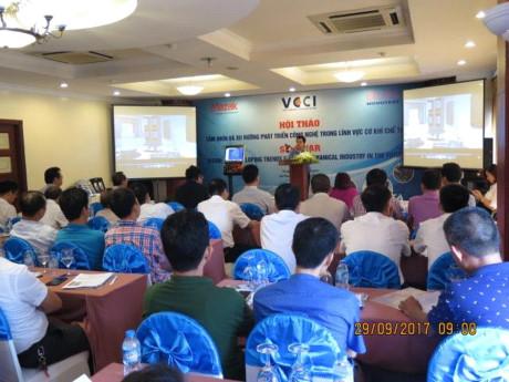 Hội thảo tầm nhìn và xu hướng phát triển công nghệ trong lĩnh vực cơ khí chế tạo